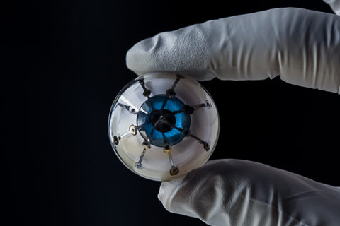 Research Brief: Researchers 3D print prototype for 'bionic eye'