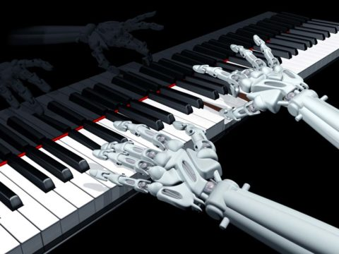 3D-Printed Robot Hand 'Plays' the Piano