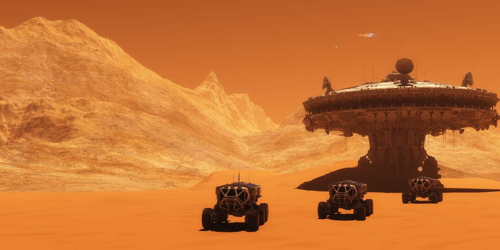 Elon Musk's Vision to Colonize Mars Updated in New Space