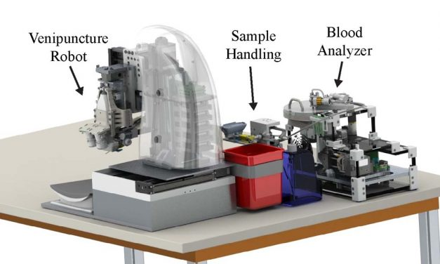 End-to-end blood testing device demonstrates capacity to draw sample and provide diagnostic results at the point-of-care