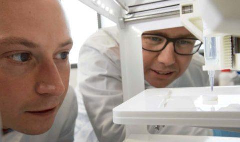 First 3D printed human corneas