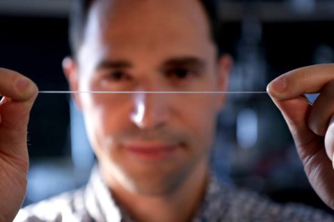 An elastic fiber set to revolutionize smart clothes