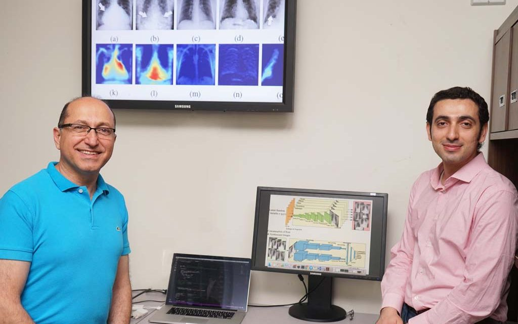 Training artificial intelligence with artificial X-rays